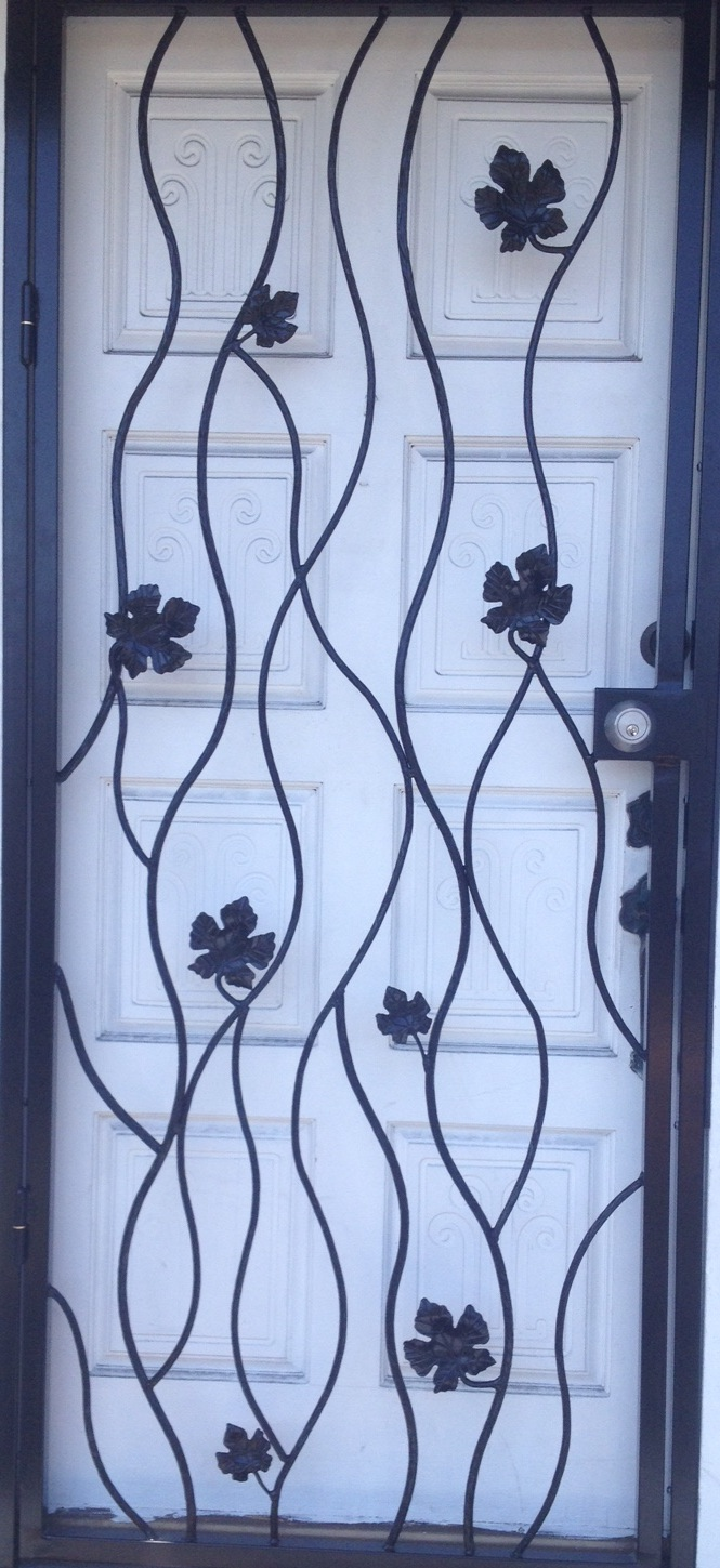 Maple Leaf Door